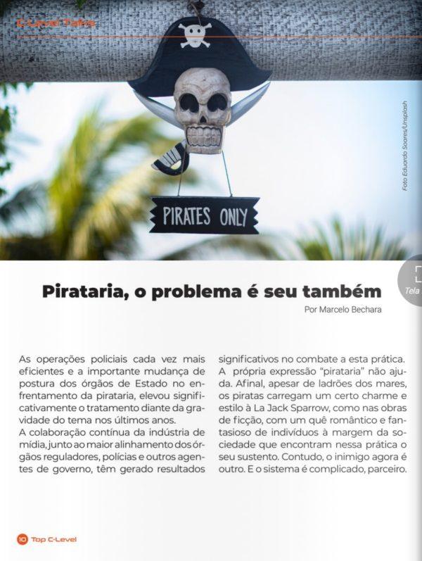 Pirataria, o problema é seu também